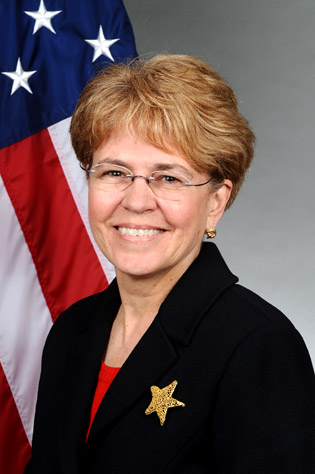 Dr. Jane Lubchenco, under-secretary of commerce for oceans and atmosphere and administrator of the National Oceanic and Atmospheric Administration