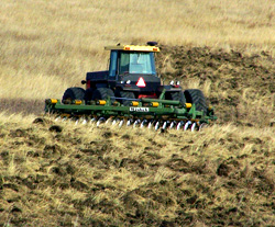 CRP acreage being converted back to cropland