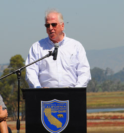Congressman Thompson at the Napa Sonoma celebration