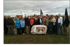 Sponsors and conservation partners joined with DU staff and volunteers to celebrate the Brancheau Marsh project