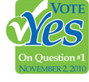 DU volunteers are encouraging Iowa residents to Vote Yes on Question #1 on Nov. 2, to benefit Iowa's natural resources.