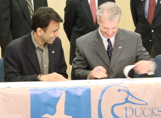 Gov. Jindal and Don Young