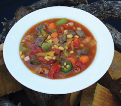 Goose and White Bean Stew