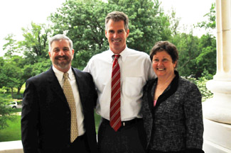 DU CEO Dale Hall, Sen. Scott Brown and Fran Rich