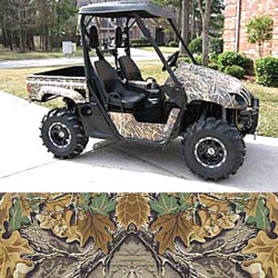 Camoclad Utility Vehicle Accent Kit