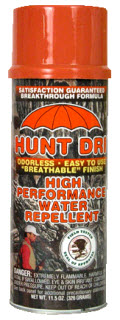 Hunt Dri Water Repellent Spray