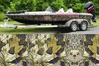 Camoclad Camouflage Deluxe Boat Kit