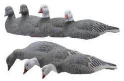 Greenhead Gear T and T Snow and Blue Goose Shell Decoys