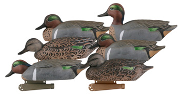 Greenhead Gear® Life-Size Pro-Grade™ Green-Winged Teal Decoys