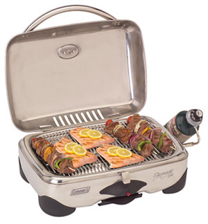 Shoreside™ Stainless Steel 2-Burner Portable Marine Grill