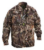 Drake EST Heat-Escape Waterproof Hunting Shirt