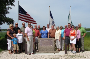 Dedication of Diamond Lake project