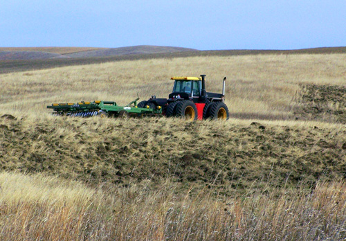 Converting CRP acreage back to cropland
