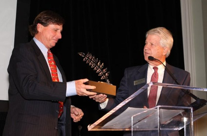 Jim Kennedy receives award from Georgia Conservancy