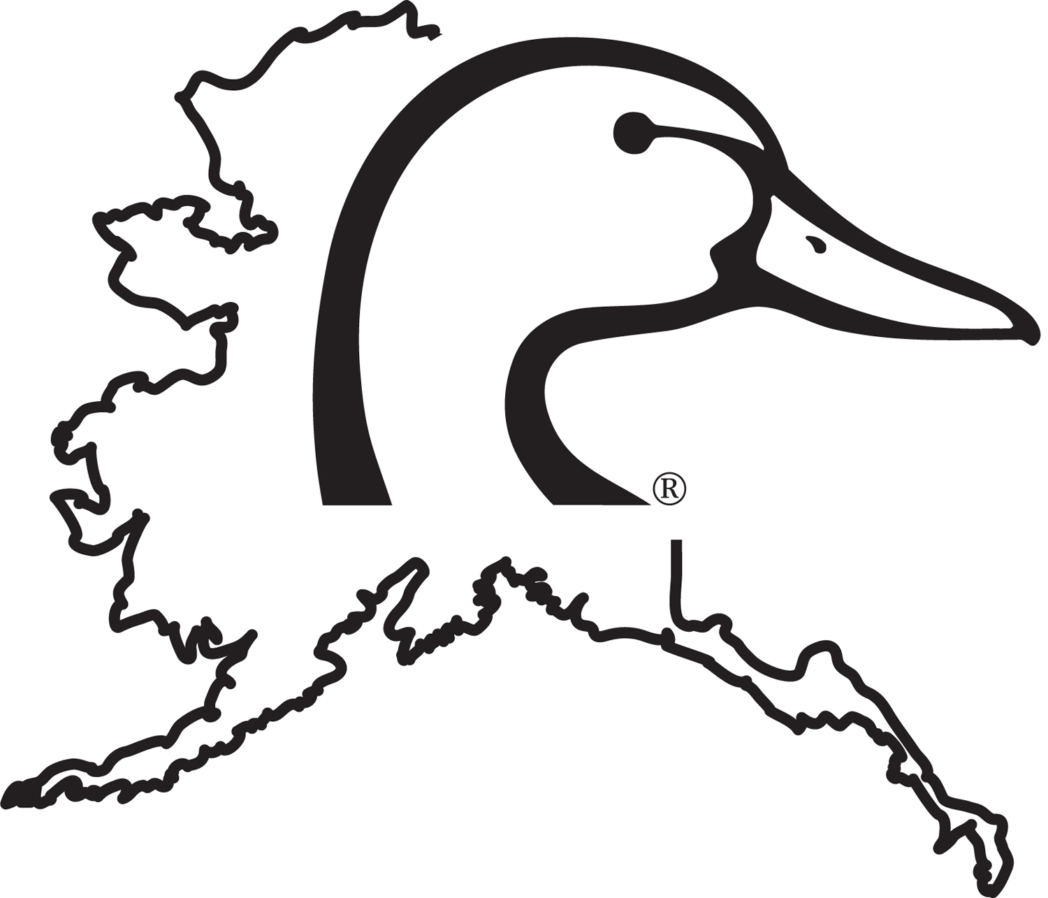 ducks unlimited coloring pages - photo#20