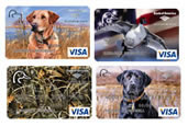 Click here to learn more about the Ducks Unlimited WorldPoints® credit card