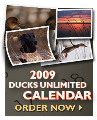 Click here to donate & receive your 2009 DU Calendar!