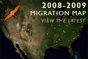 Click here to visit DU's Waterfowl Migration Map now!