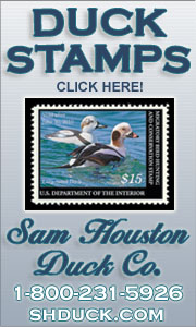 Click here to visit the Sam Houston Duck Co. Web site