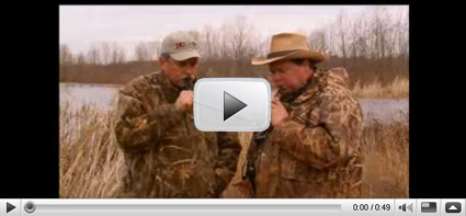 Click to watch this month's featured video: Using a Whistle to Call Pintail, Wigeon and Teal