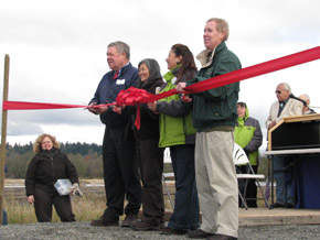 Nisqually dedication