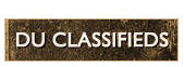 Visit the DU Classifieds