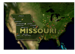 Missouri Migration Map report