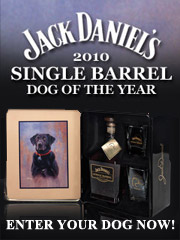 Click here to enter your dog in the Jack Daniel's Dog of the Year contest