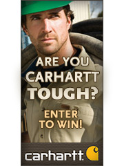 Enter the 'Are You Carhartt Tough?' contest today