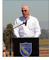 Congressman Thompson at the Napa Sonoma celebration in California