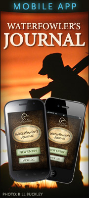 Download the official DU Waterfowler's Journal App now!
