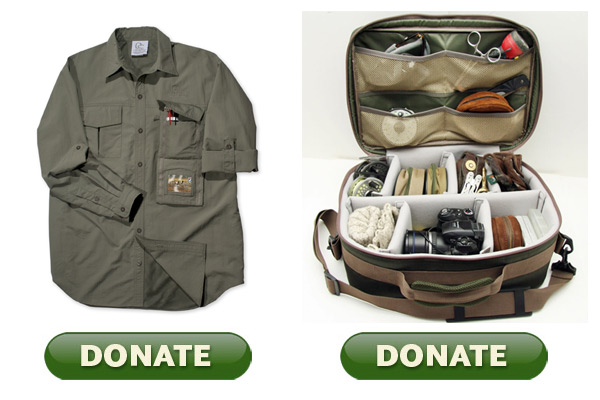 Donate 40 Or More Today To Ducks Unlimited And Get Du S Expedition Shirt Field Tackle Bag Free