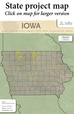 State Conservation Projects Map
