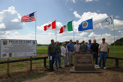 Pelican Lake Dedication