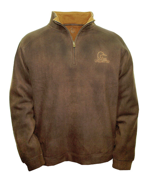 Get the DU Double-Layer Fleece Pullover!