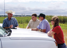 In the southern United States, Ducks Unlimited and the USDA Natural Resources Conservation Service have helped farmers restore nearly 180,000 acres of bottomland hardwood forest on flood-prone former cropland enrolled in the Wetlands Reserve Program.