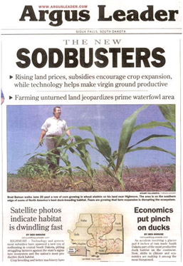 Sodbusting in the news