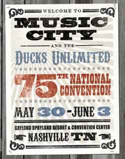 75th DU National Convention poster